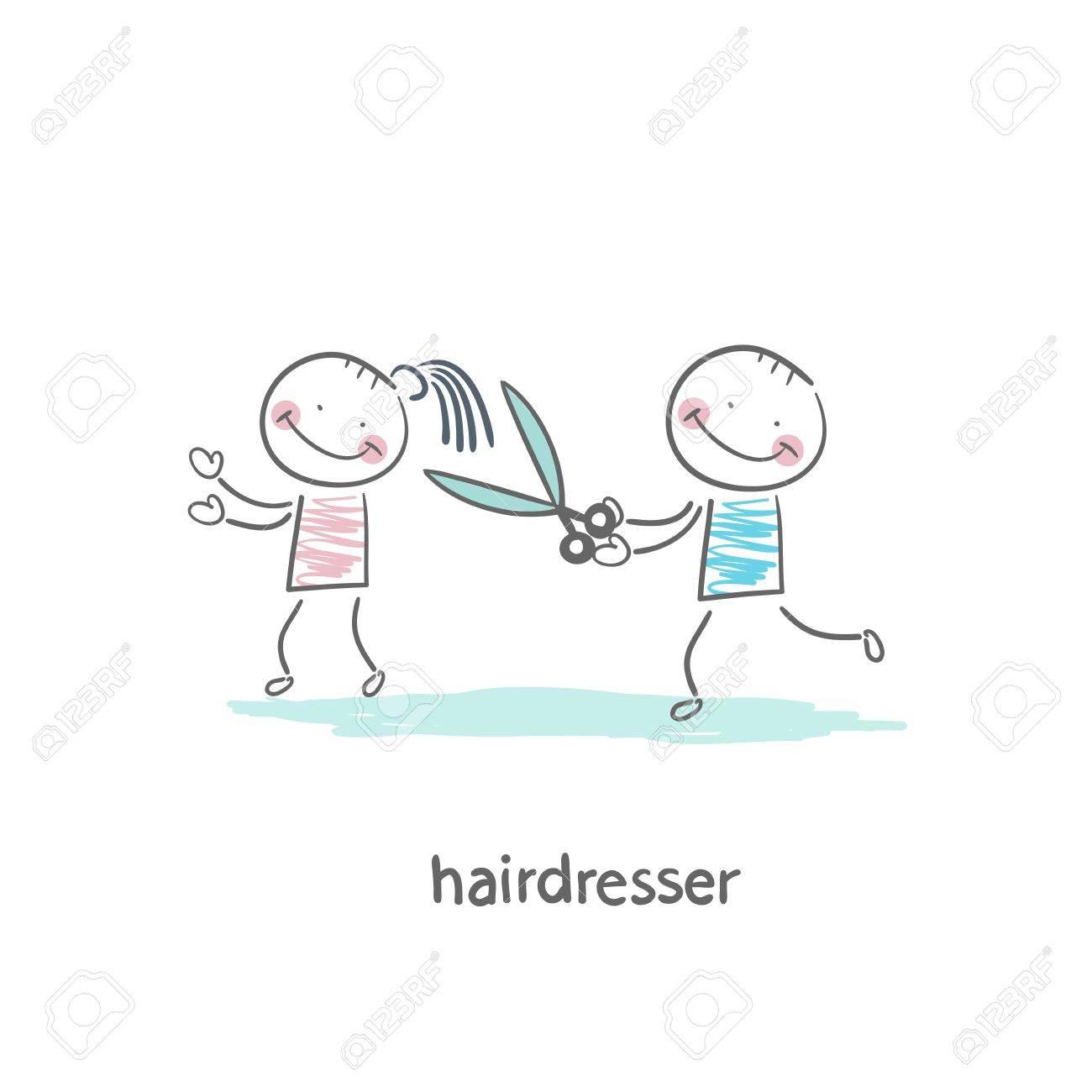 barber Stock Vector - 19150829