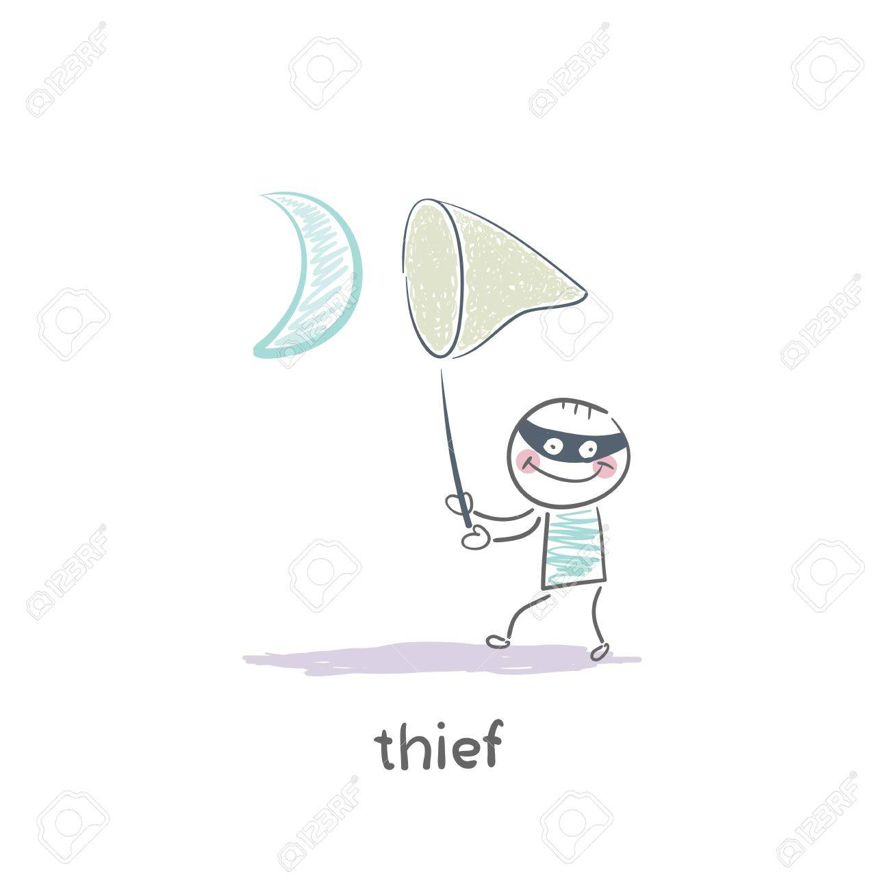 thief Stock Vector - 19150890