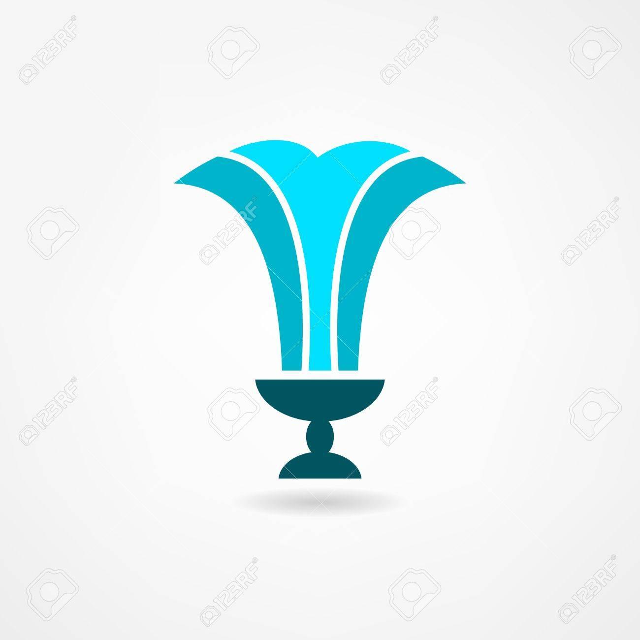 fountain icon Stock Vector - 21445773