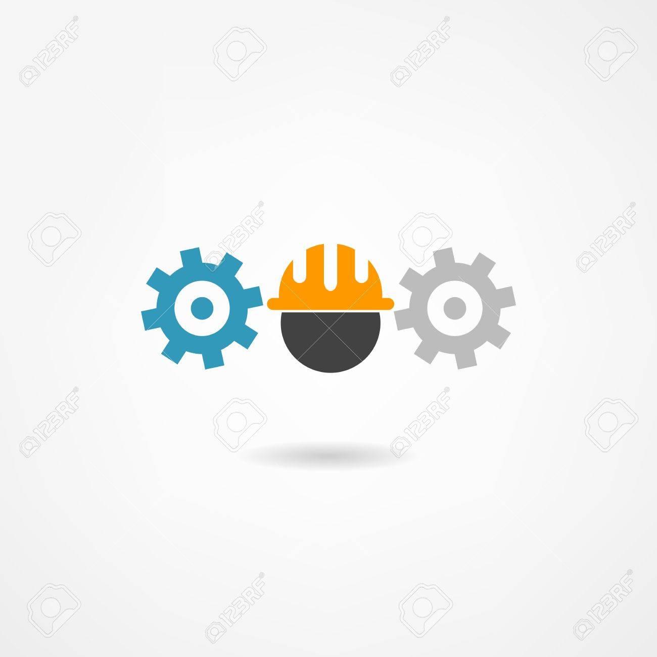 engineer icon Stock Vector - 21450630