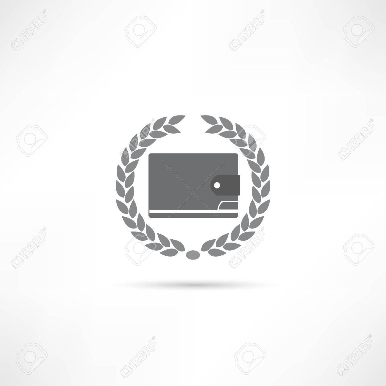 purse icon Stock Vector - 21981884