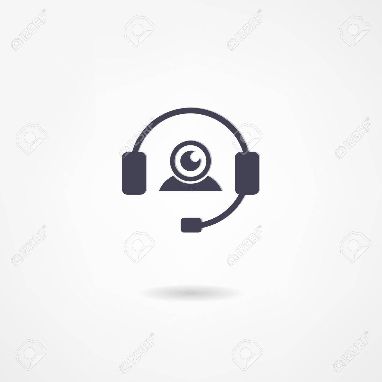 communication icon set Standard-Bild - 22073807