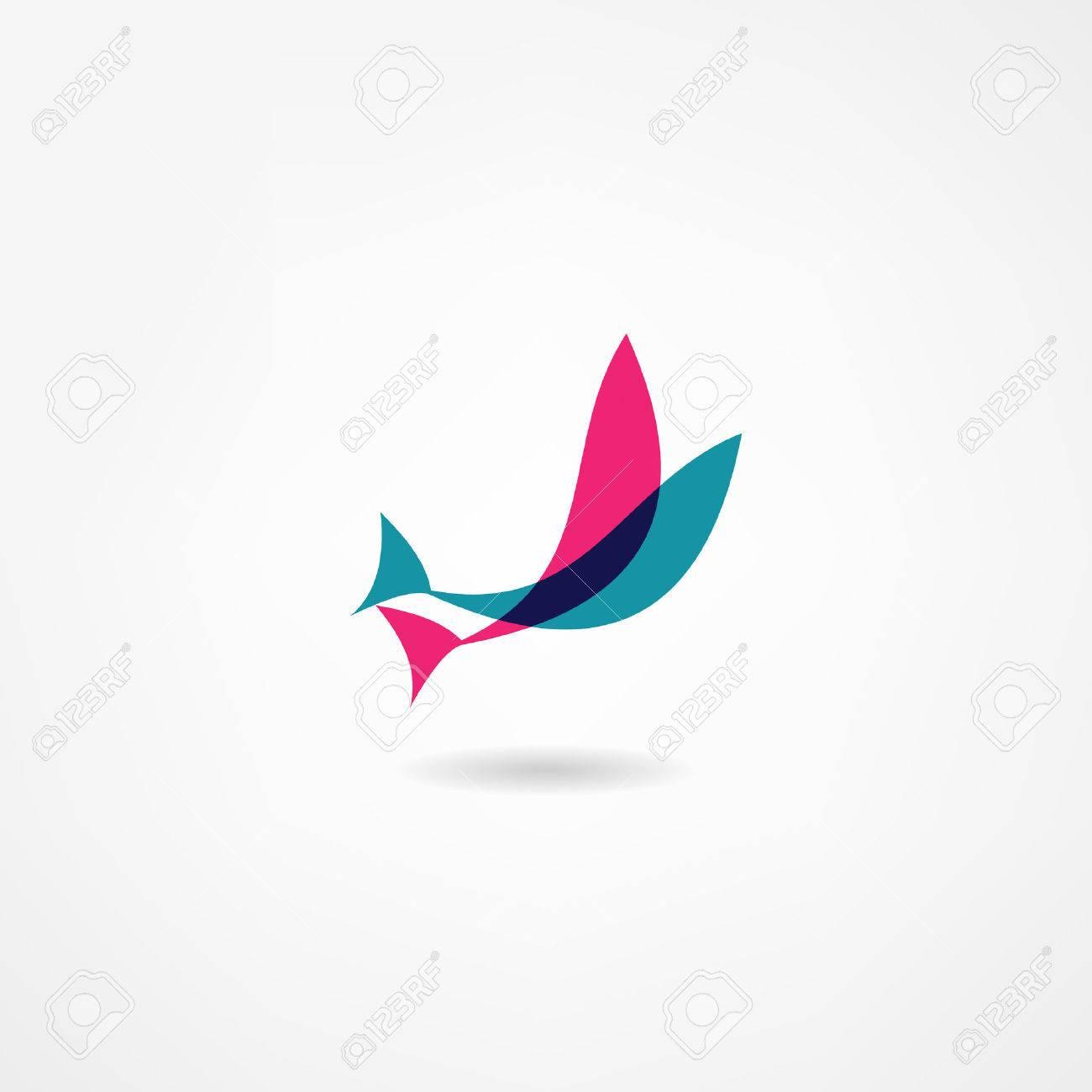 fish icon Standard-Bild - 22535774
