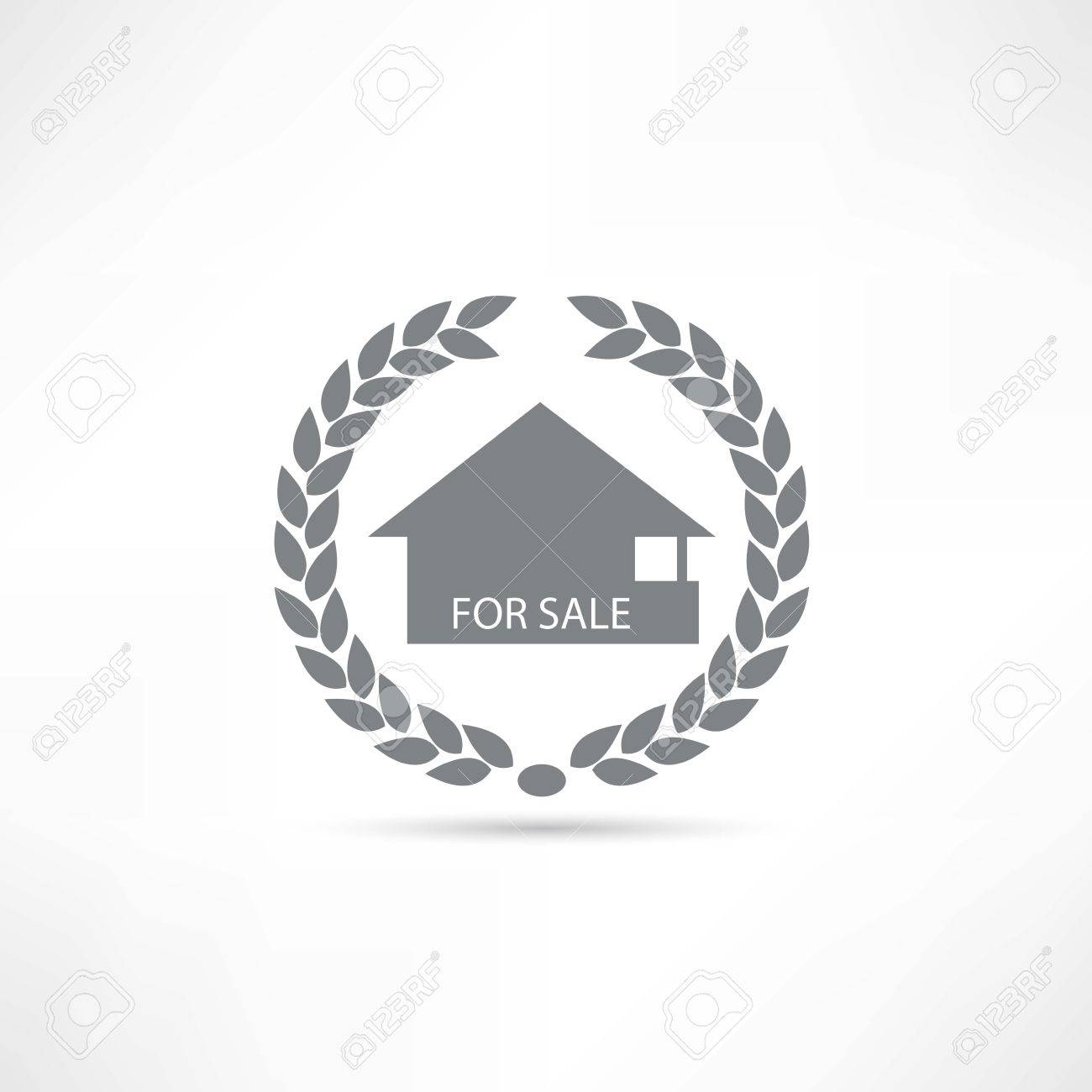 House for sale icon Stock Vector - 22660737