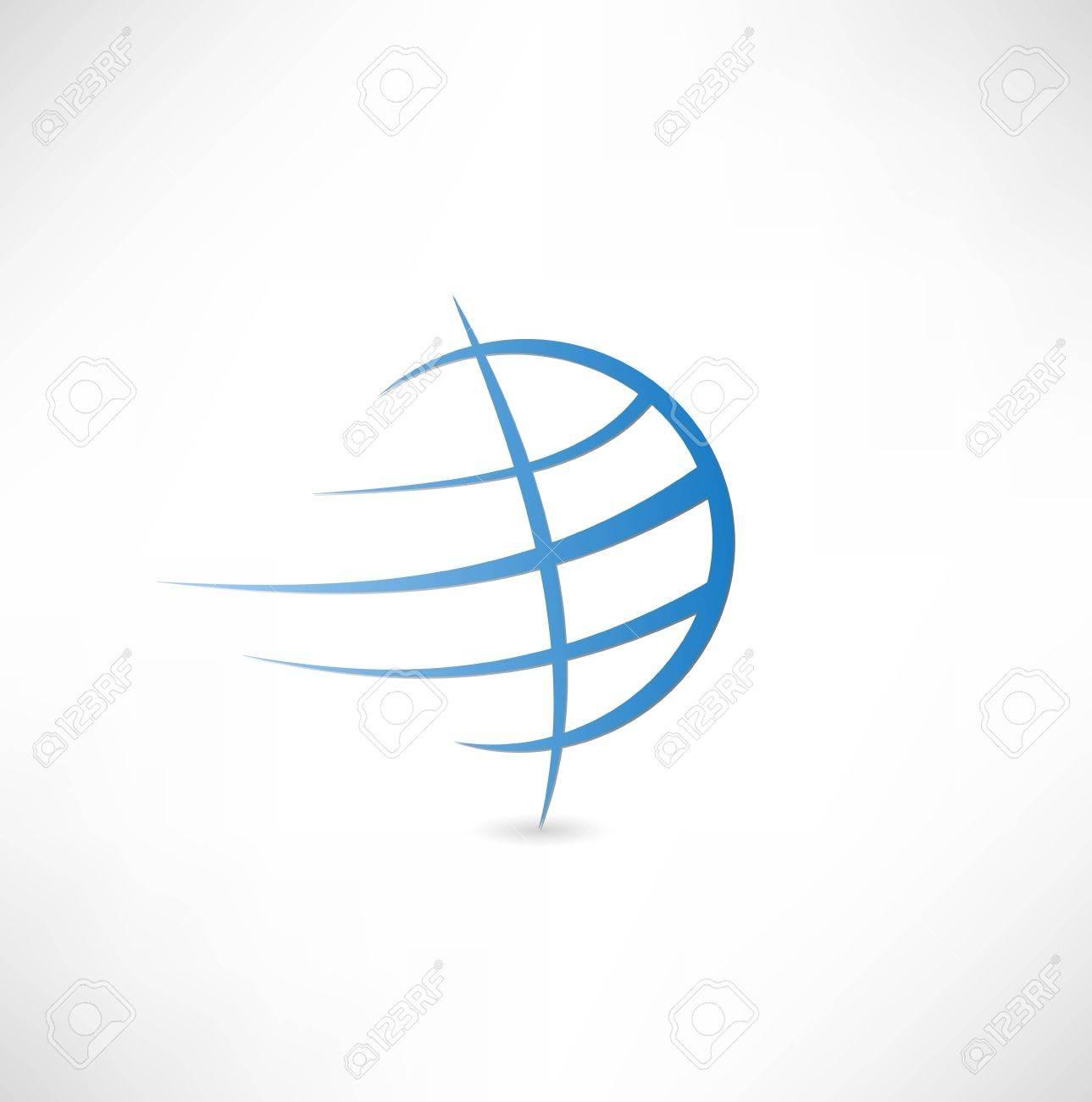 Planet earth icon Standard-Bild - 22660803