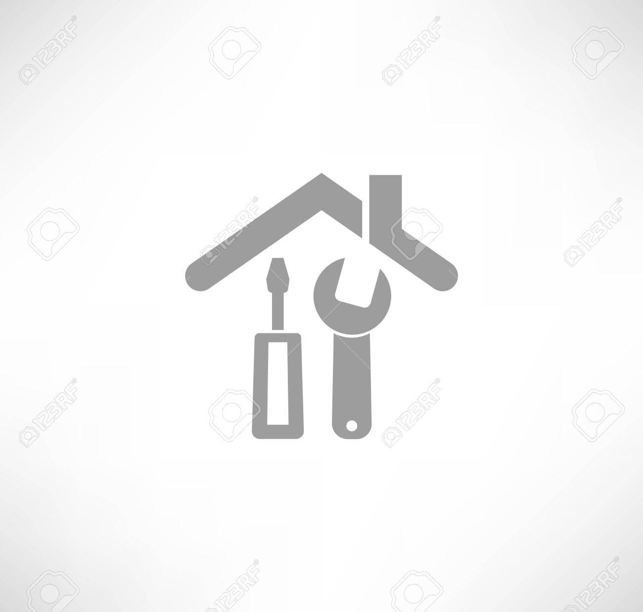 Home repair icon Stock Vector - 22798311