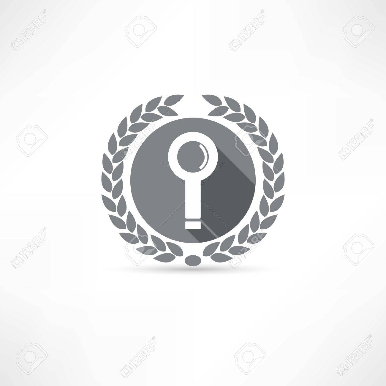 search icon Stock Vector - 23708704