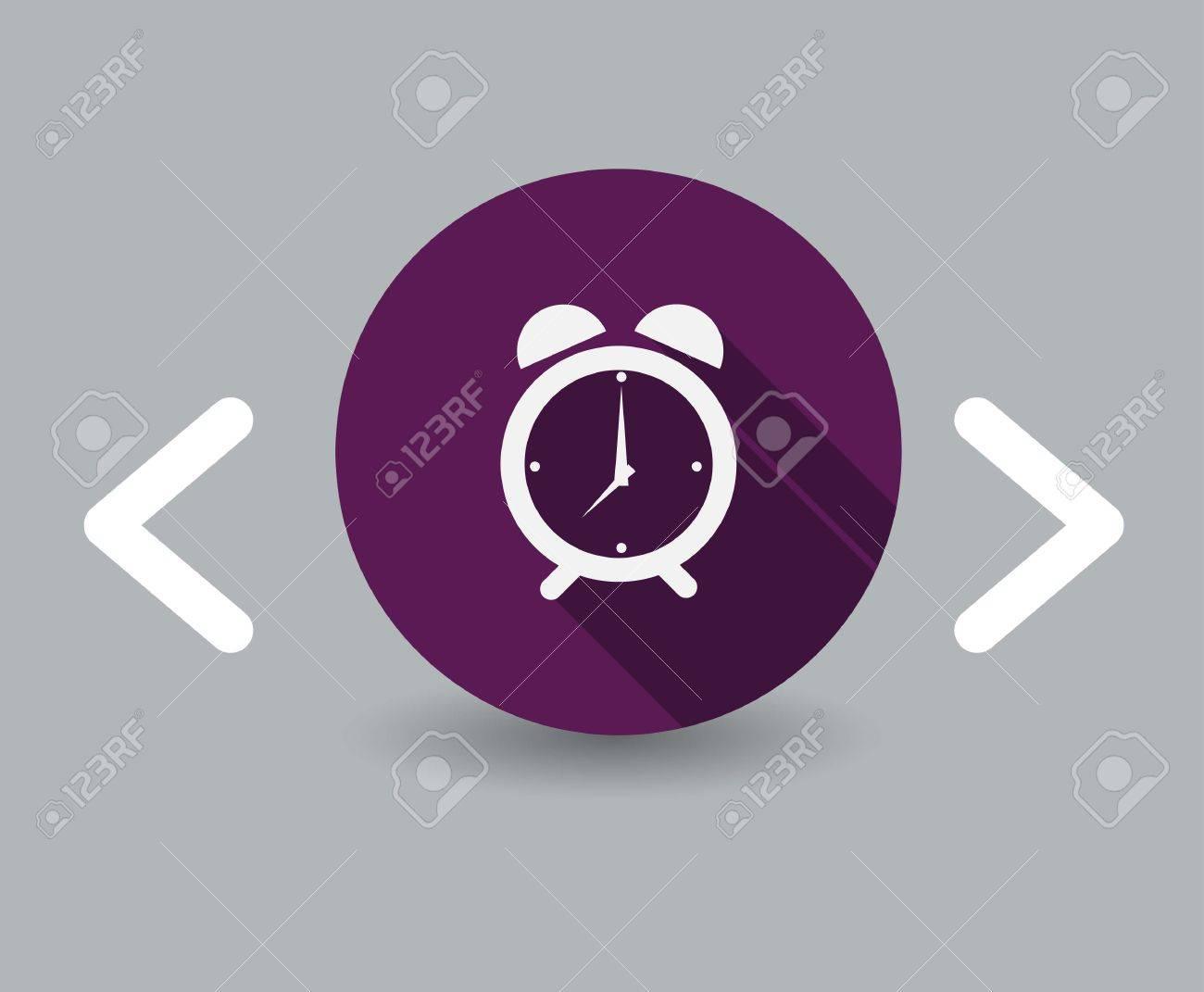 time icon Standard-Bild - 23708653