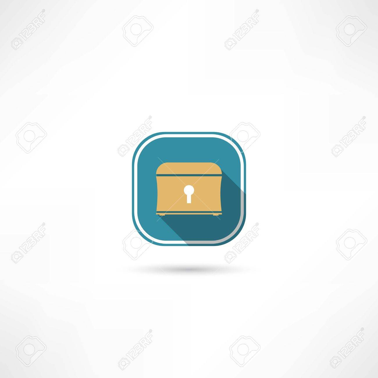 chest icon Stock Vector - 27531370
