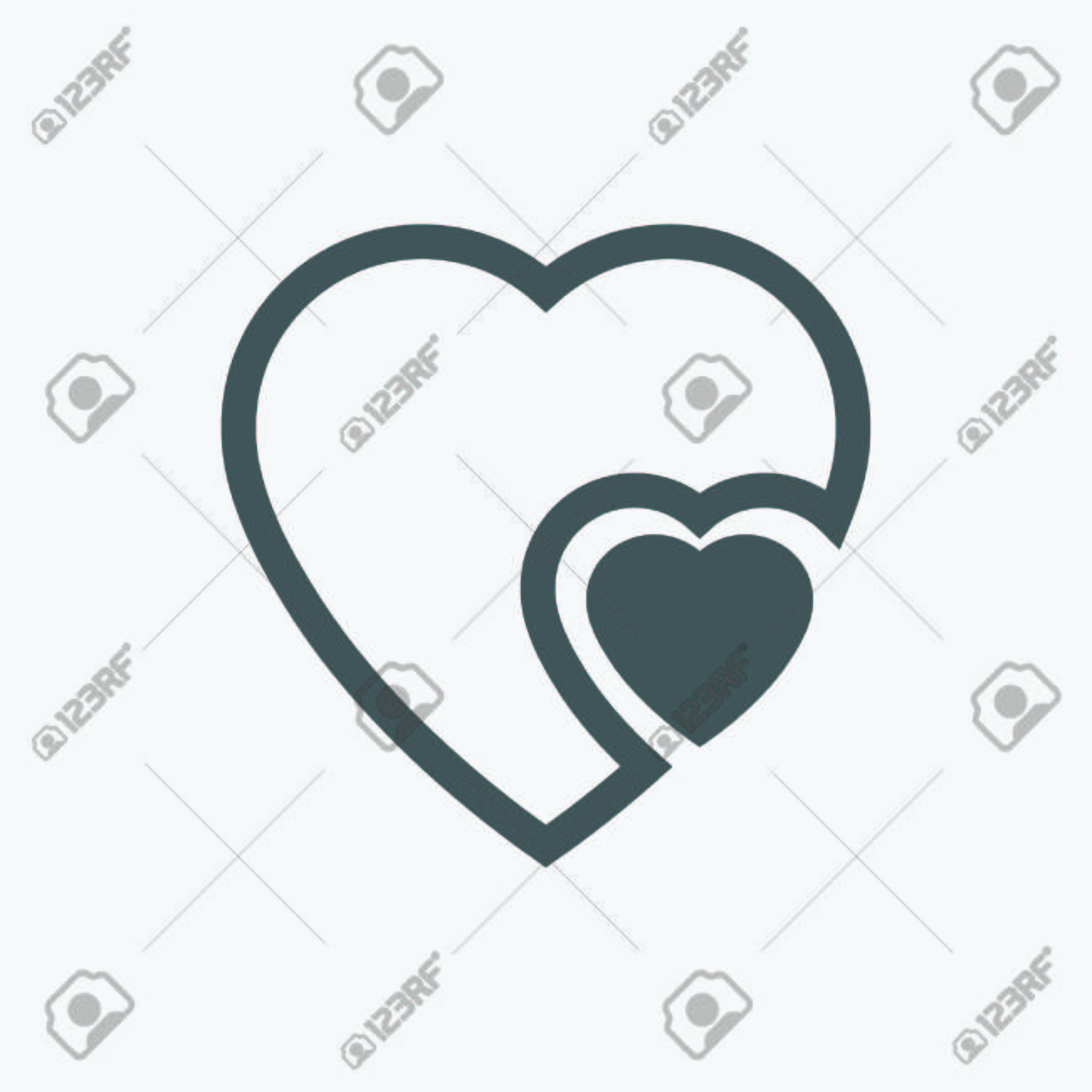 Human heart icons signs or symbols for love simple vector human heart icons signs or symbols for love simple vector graphic this buycottarizona Choice Image
