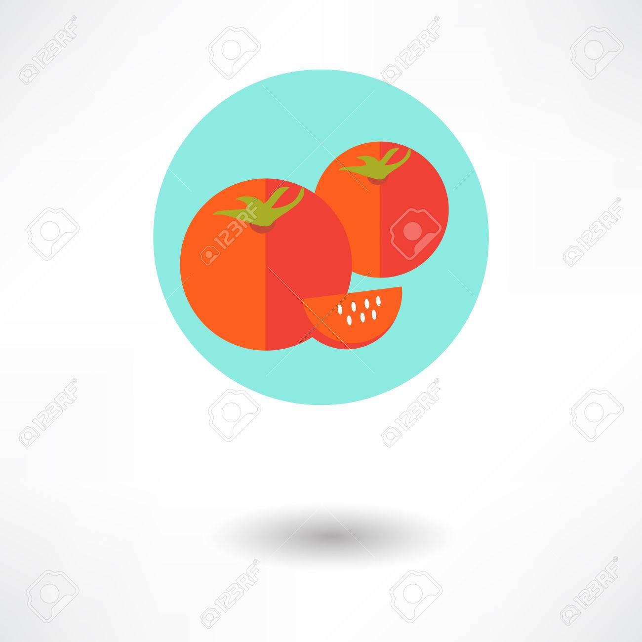 Tomato Slice Icon