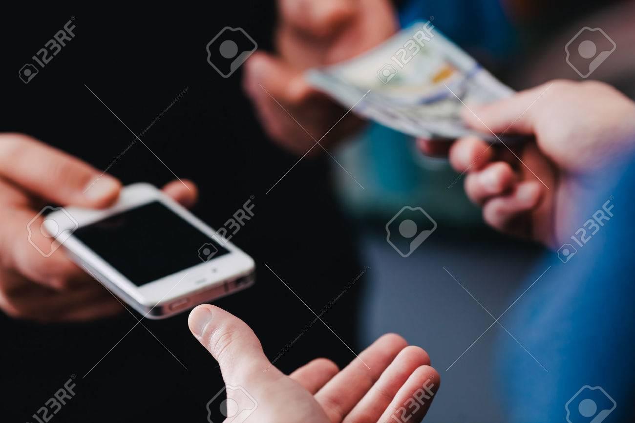 buy used smartphone Standard-Bild - 33714561