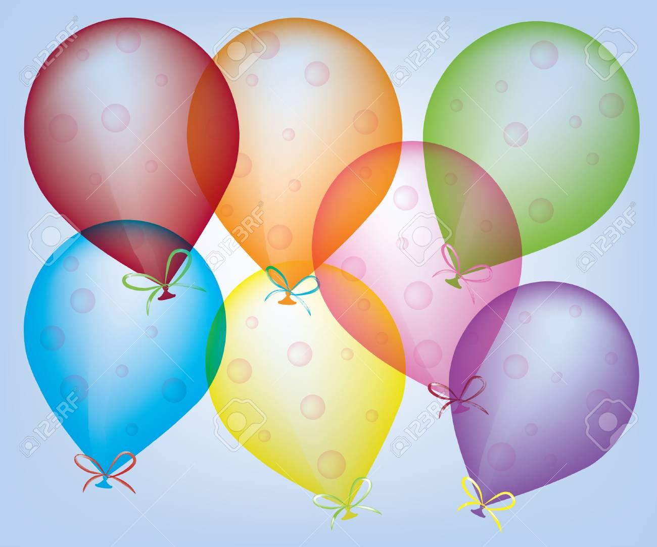 Abstract ballons Stock Vector - 9721886