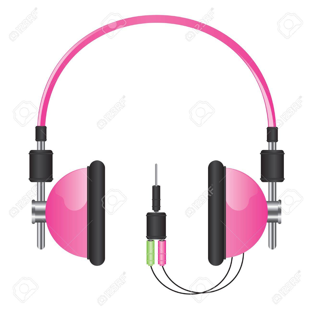 Fantastisch Kopfhörer Draht Clip Art Zeitgenössisch - Elektrische ...