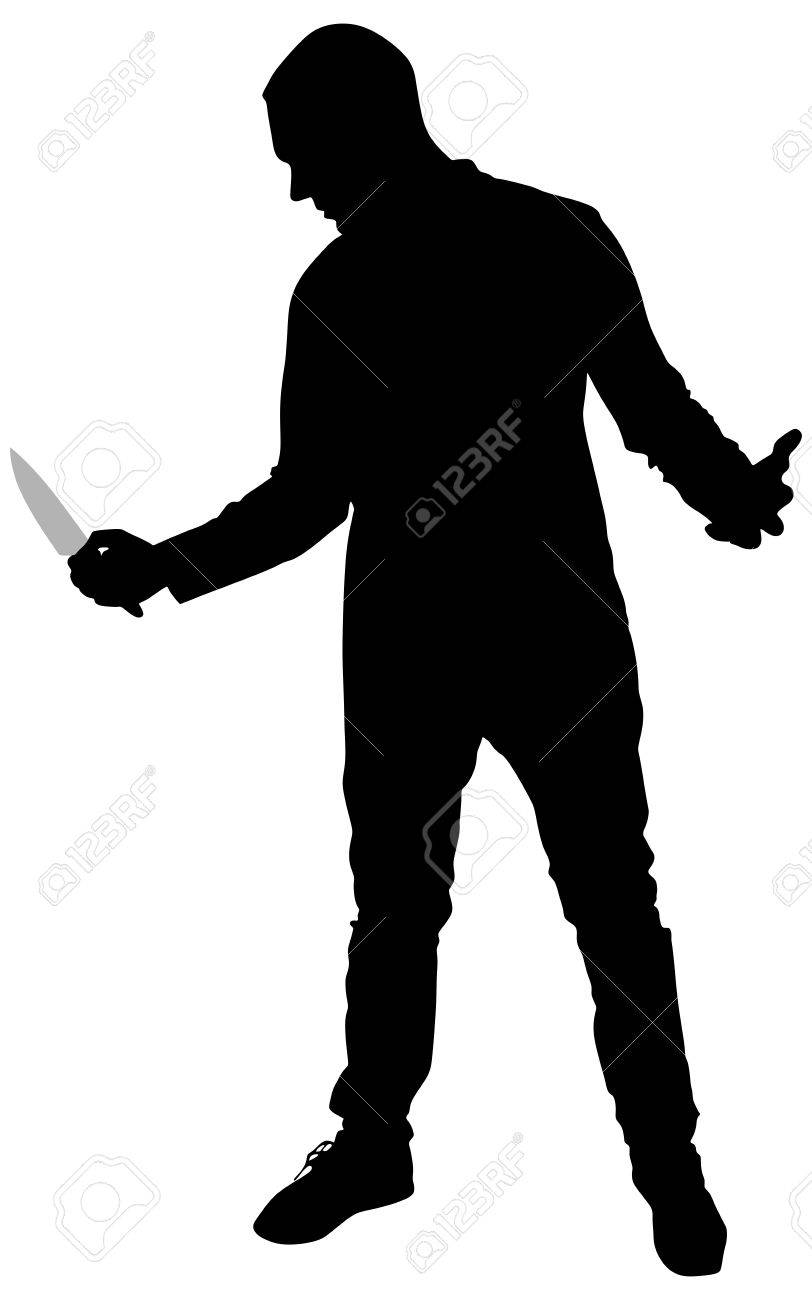 Image result for asesino con cuchillo