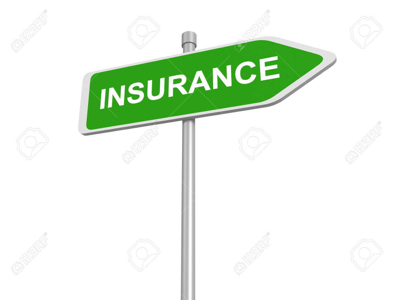 Insurance Road Sign Insurance Risk Management Pay Premium At