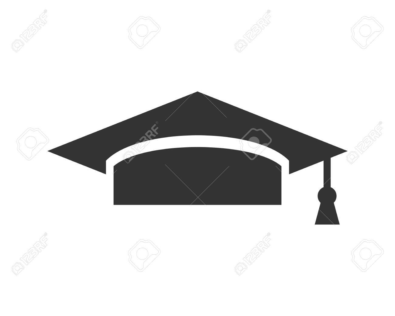 Graduation Cap Icon Royalty Free Cliparts, Vectors, And Stock ...
