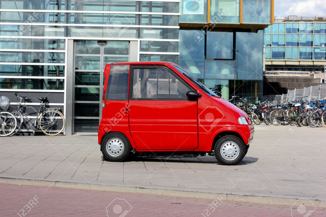 Little Red Car >> Funny Little Red Car Amsterdam The Netherlands