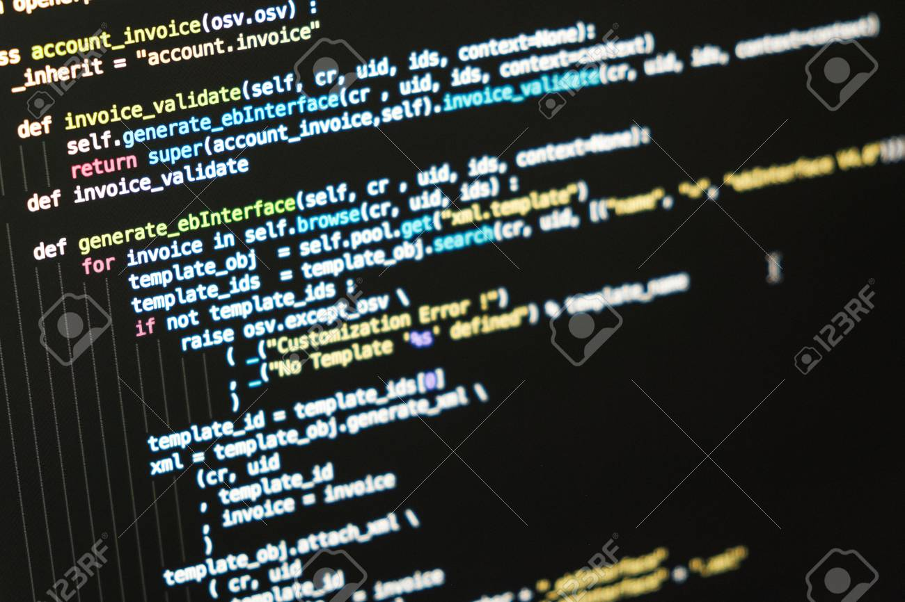 Coding text information on the computer