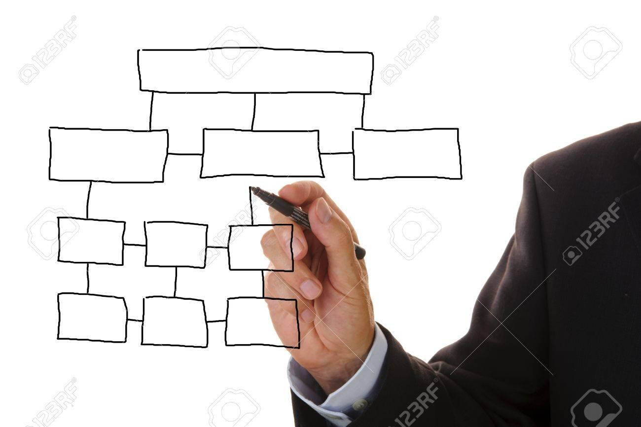 business marketing chart Stock Photo - 9360593