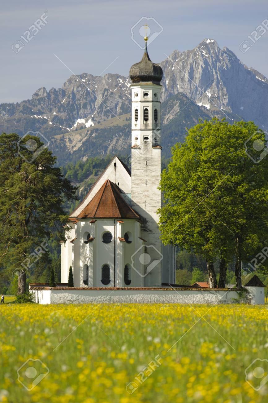 上部のババリア、ドイツ教会聖カ...