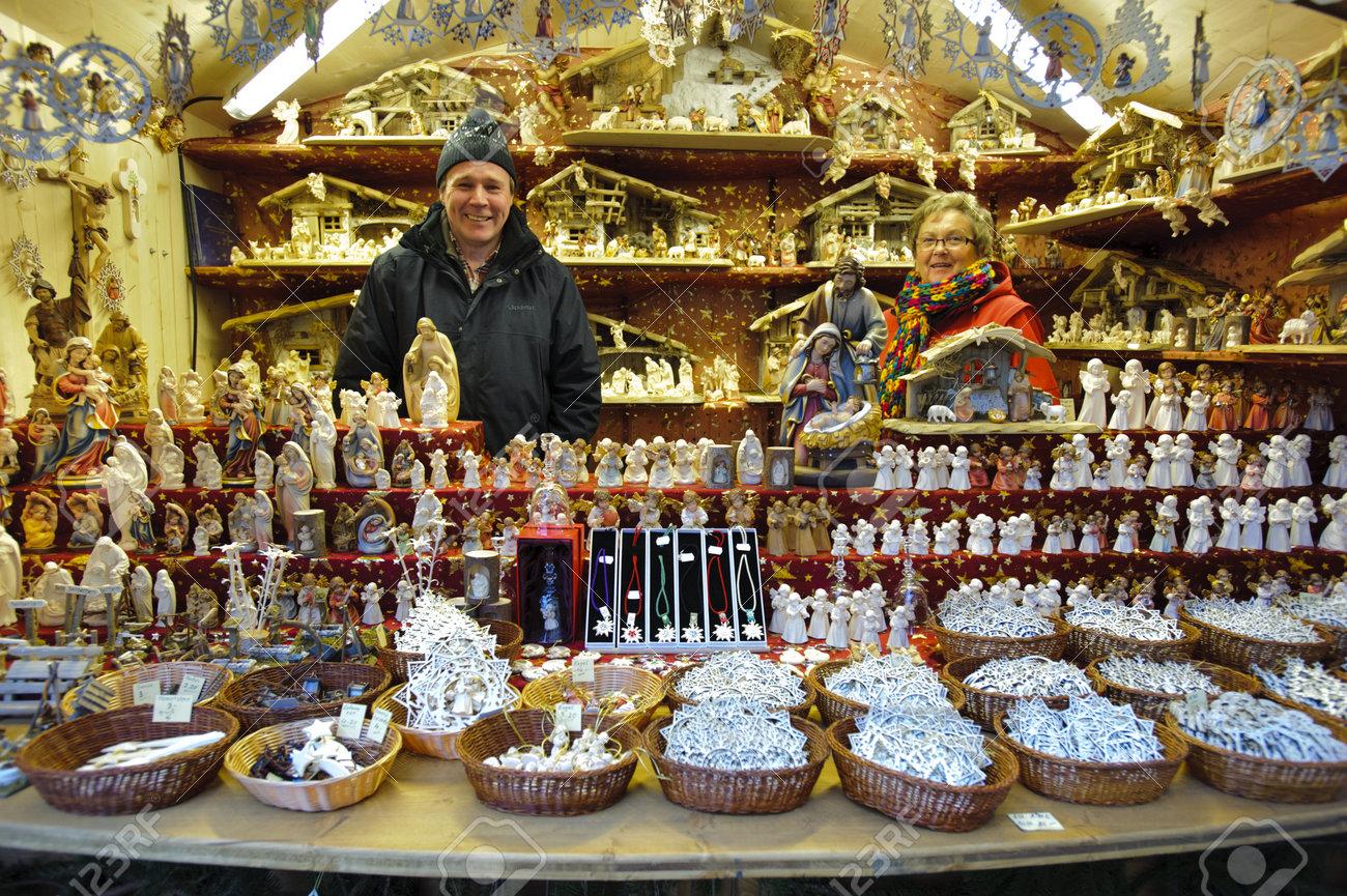 BAD HINDELANG, GERMANY - DECEMBER 4: Romantic Christmas Market ...