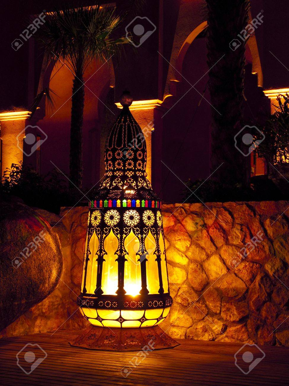 Moroccan Outdoor Lighting Outdoor Lamp In A Resort Huahin Thailand Stock Photo 16943487 Moroccan Lighting