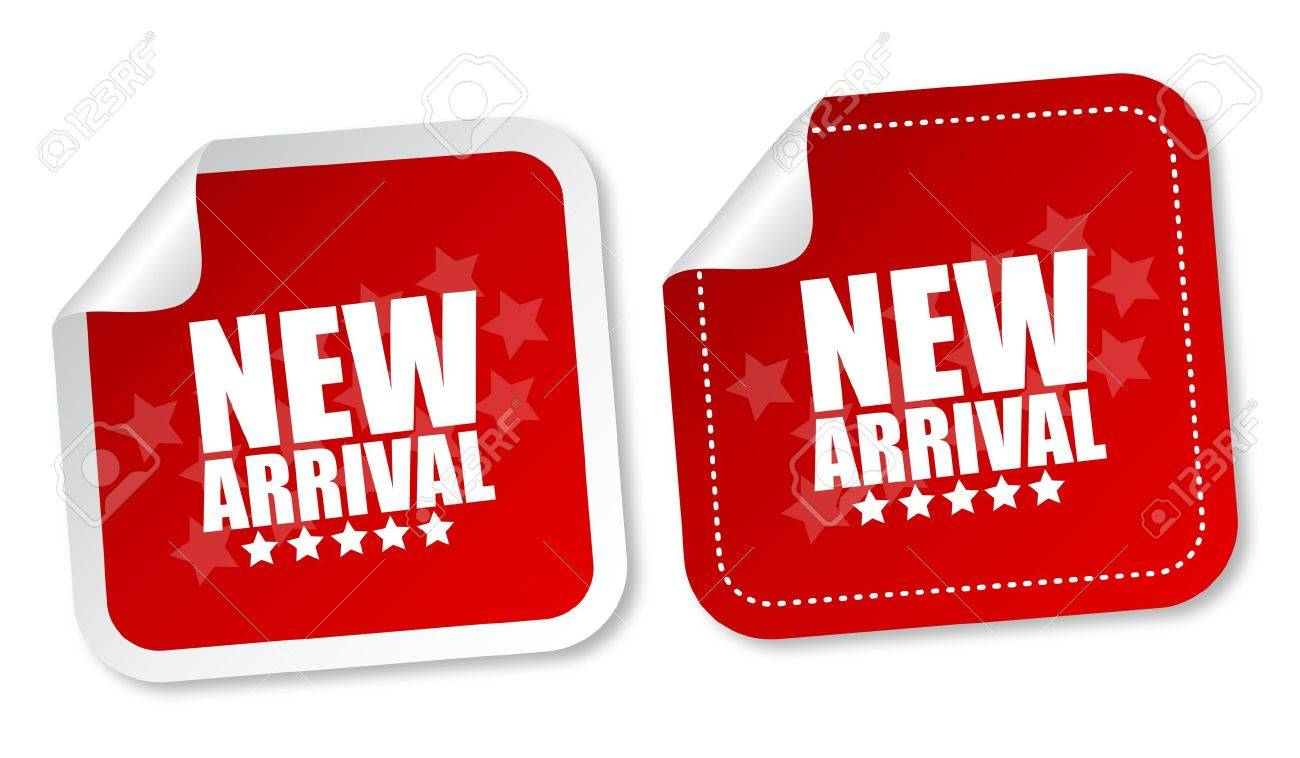 New arrival stickers - 11877392