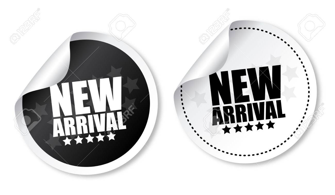 New arrival stickers - 14187524