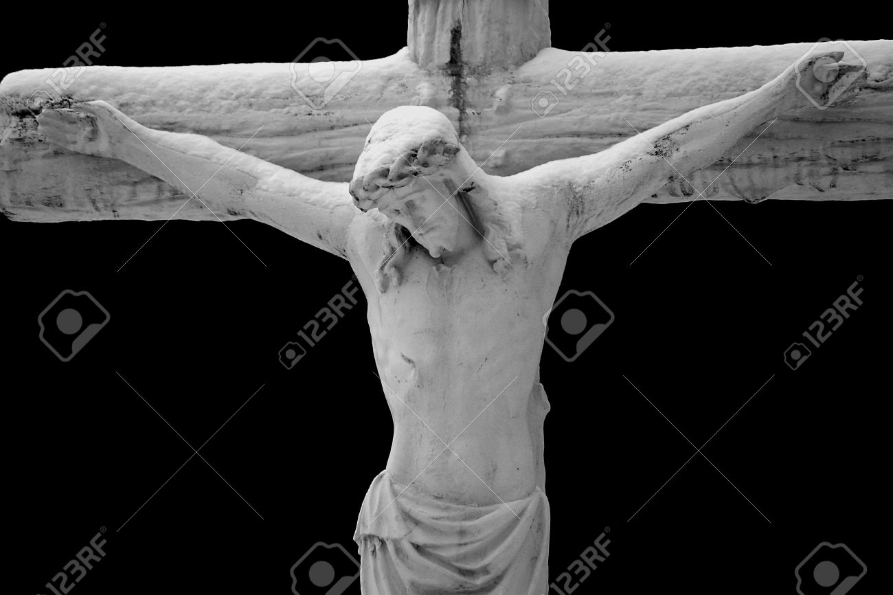 jesus on black background stock photo picture and royalty free