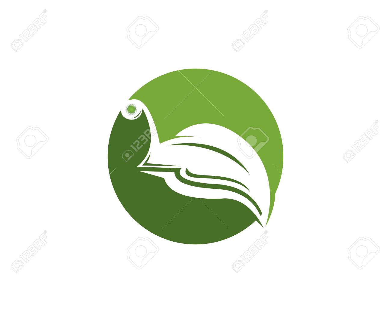 snail in leaf logo vector template royalty free cliparts vectors