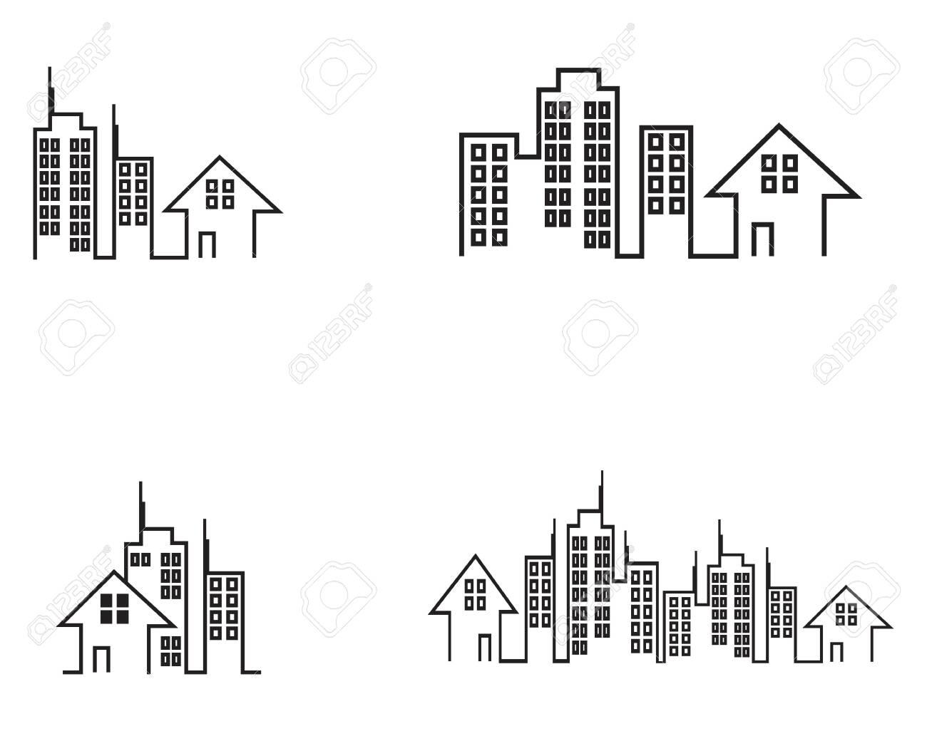 Building construction logo vector template - 122380365