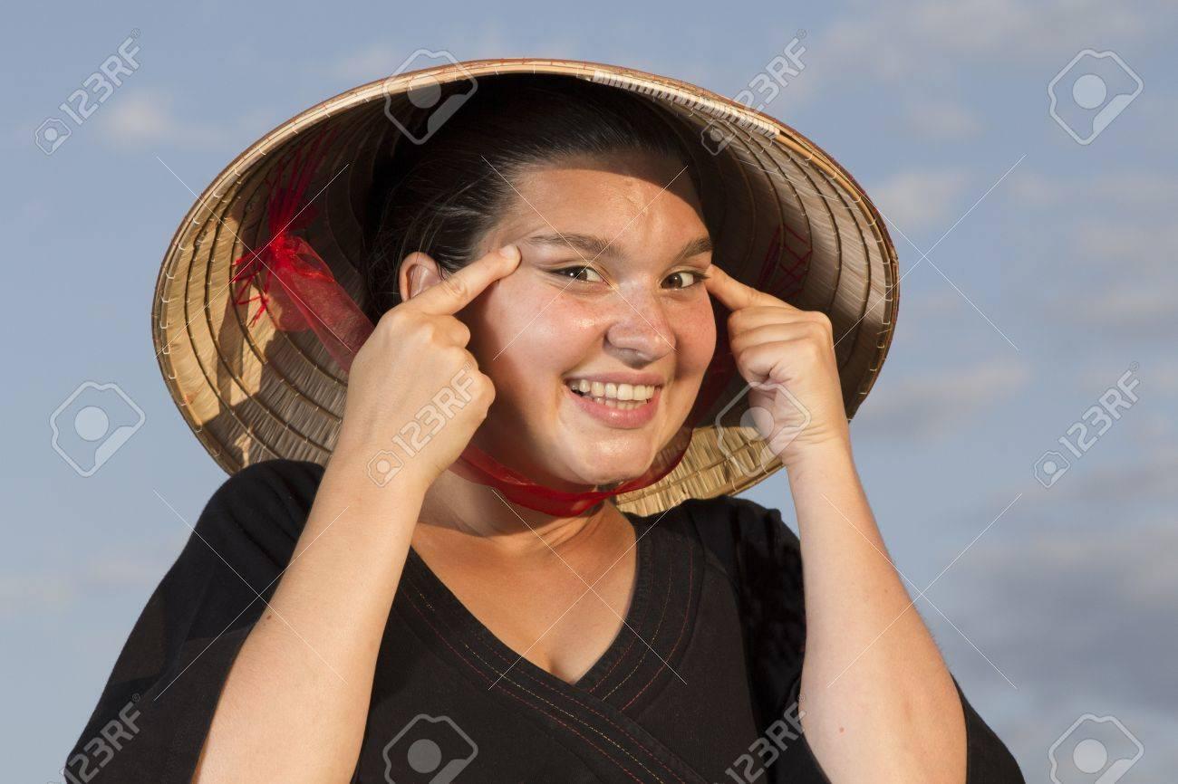 かわいい中国の女の子をなりたいです。 ロイヤリティーフリーフォト