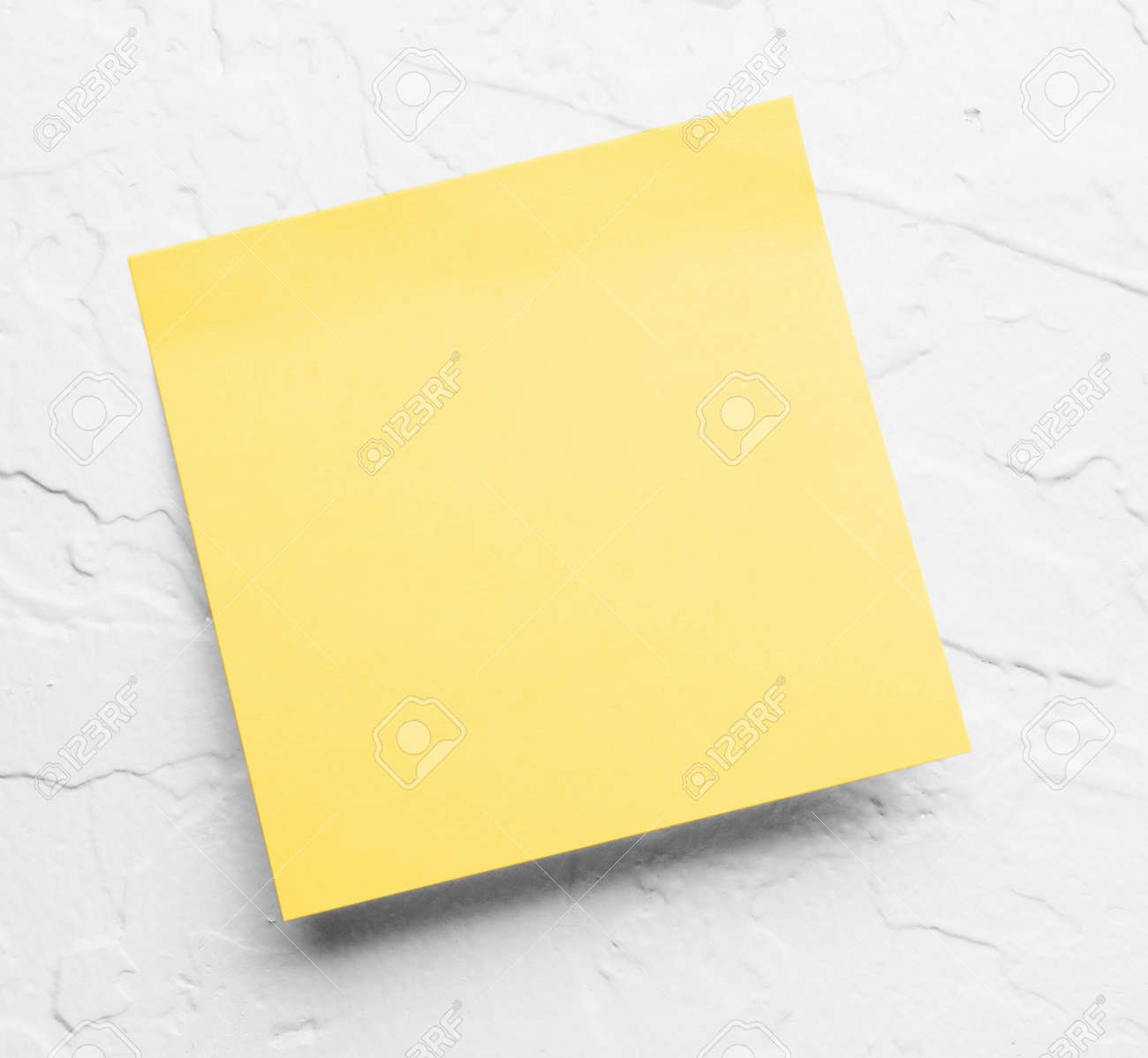 yellow sticky notes Stock Photo - 10759629