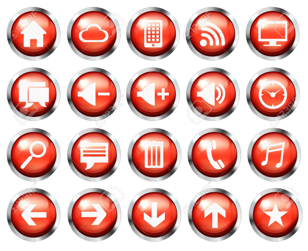 Apple aqua style icon set stock vector art & more images of icon.