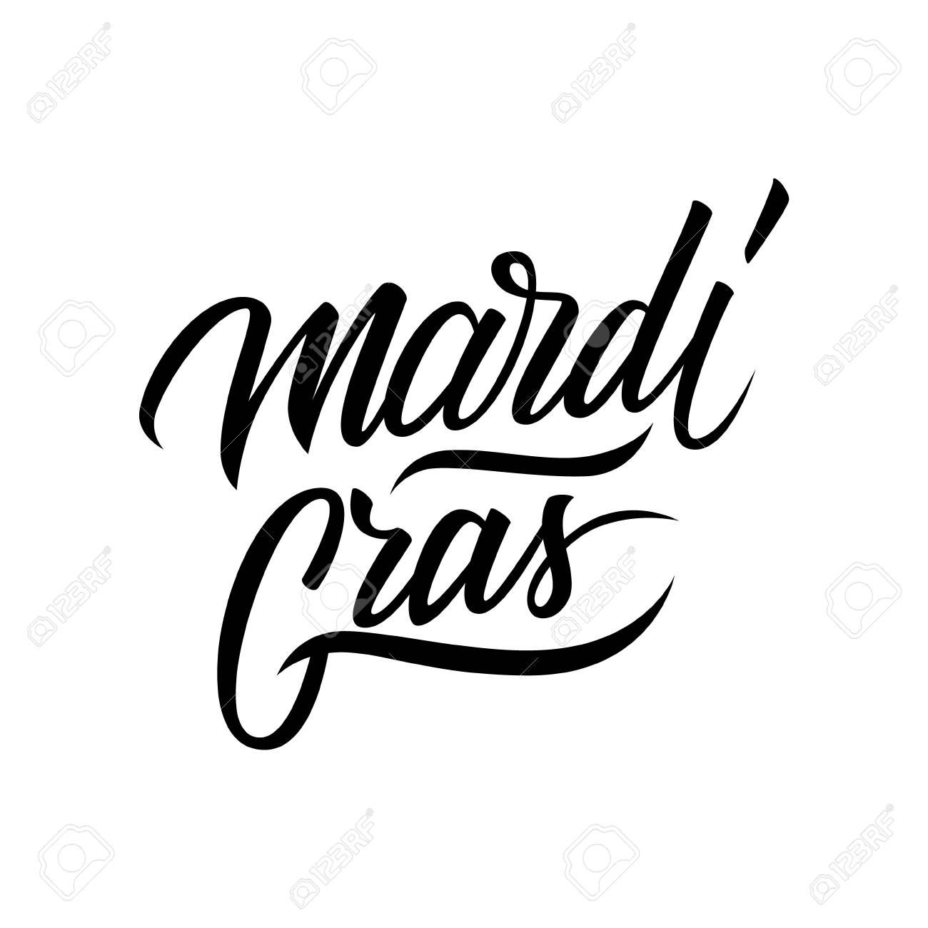 Mardi gras calligraphic lettering text design creative typography mardi gras calligraphic lettering text design creative typography for holiday greetings and invitation vector kristyandbryce Choice Image