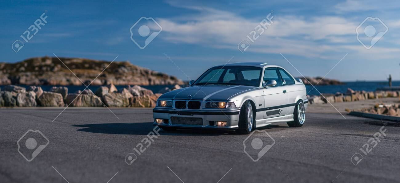 Lindesnes Norway August 2005 A Grey Bmw E36 M3 On A Parking Stock Photo Picture And Royalty Free Image Image 147377914