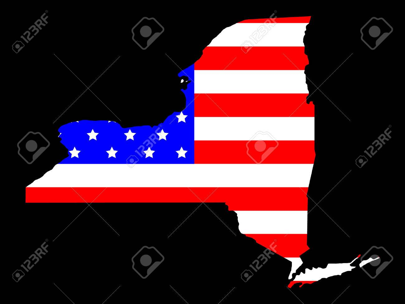 Diagram Free Collection United States Map New York State - Us states map new york