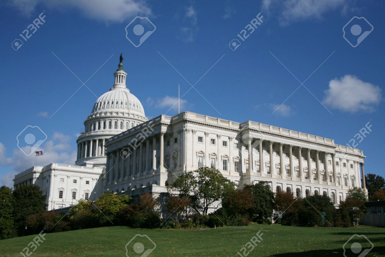 ca432a1a8b side view of Capitol building Washington DC Stock Photo - 2356718