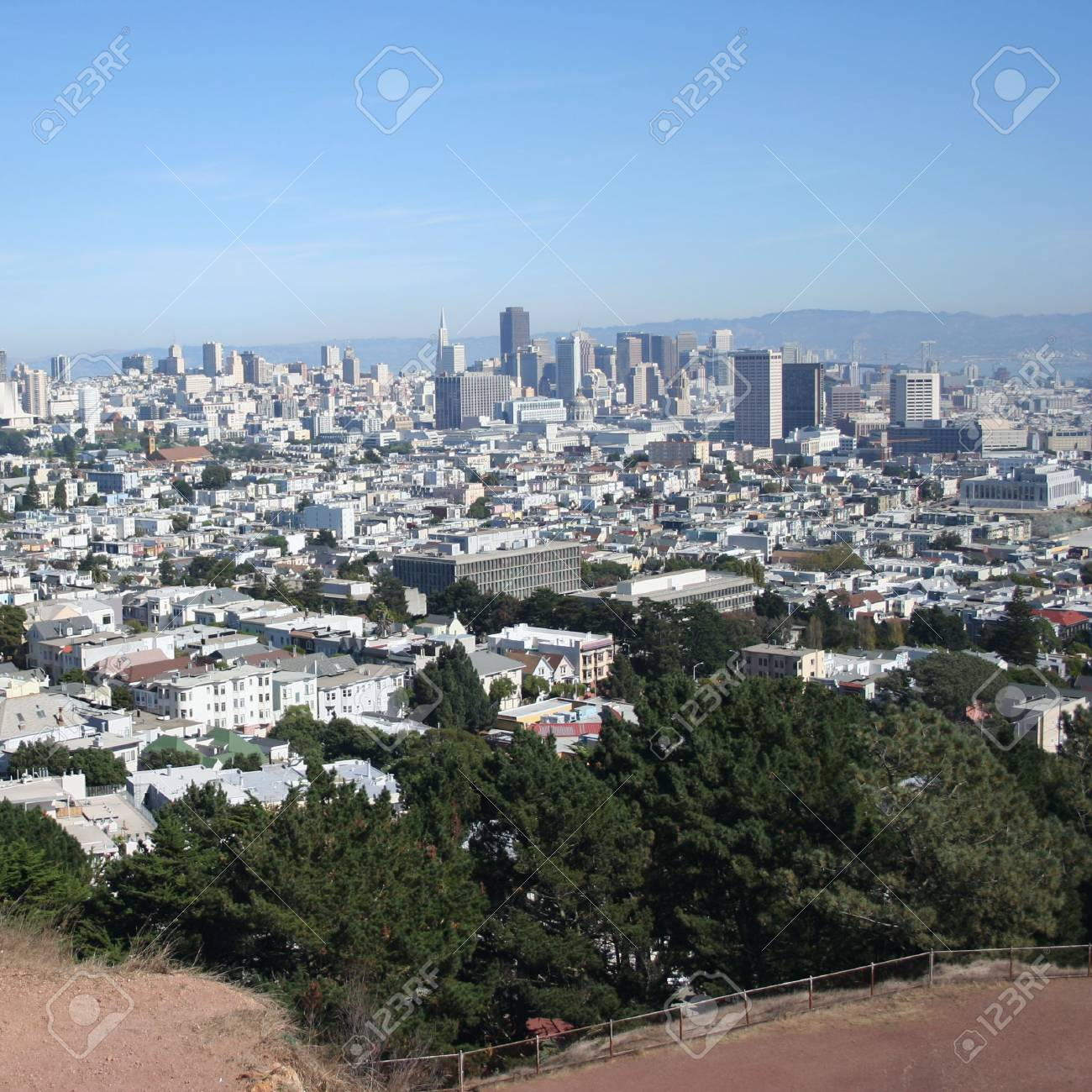 elevated view of San Francisco Stock Photo - 2786072