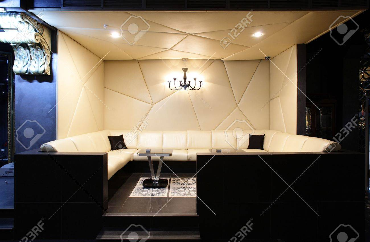 new and clean luxury night club in european style Stock Photo - 22159540