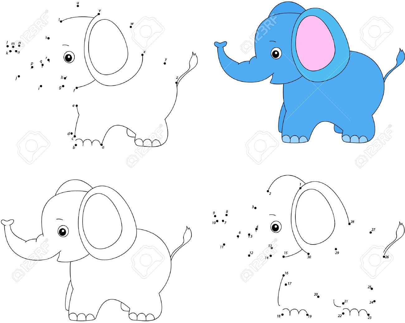 Fantástico Dibujos Animados Elefante Para Colorear Cresta - Dibujos ...