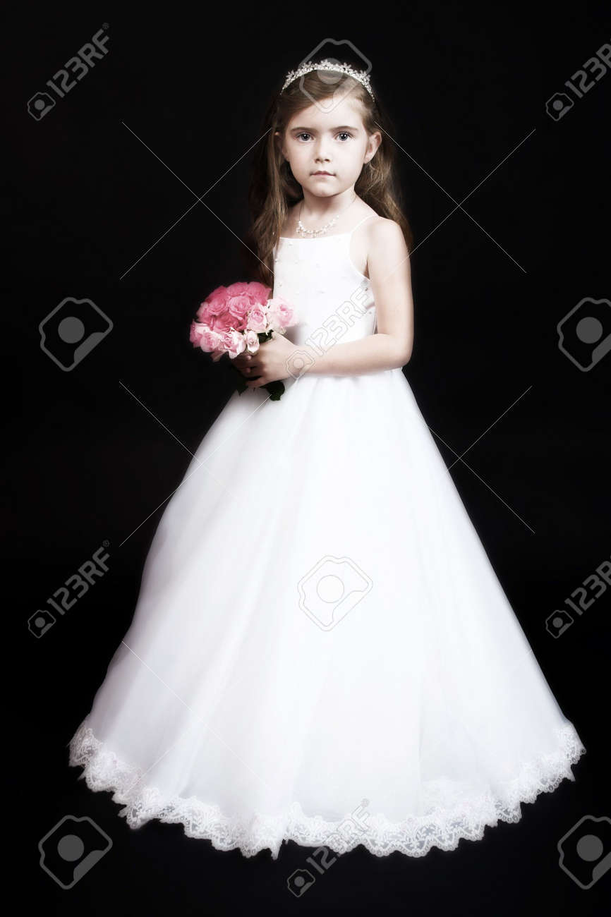 4a6dae056122 Bride And Flower Girl Dresses
