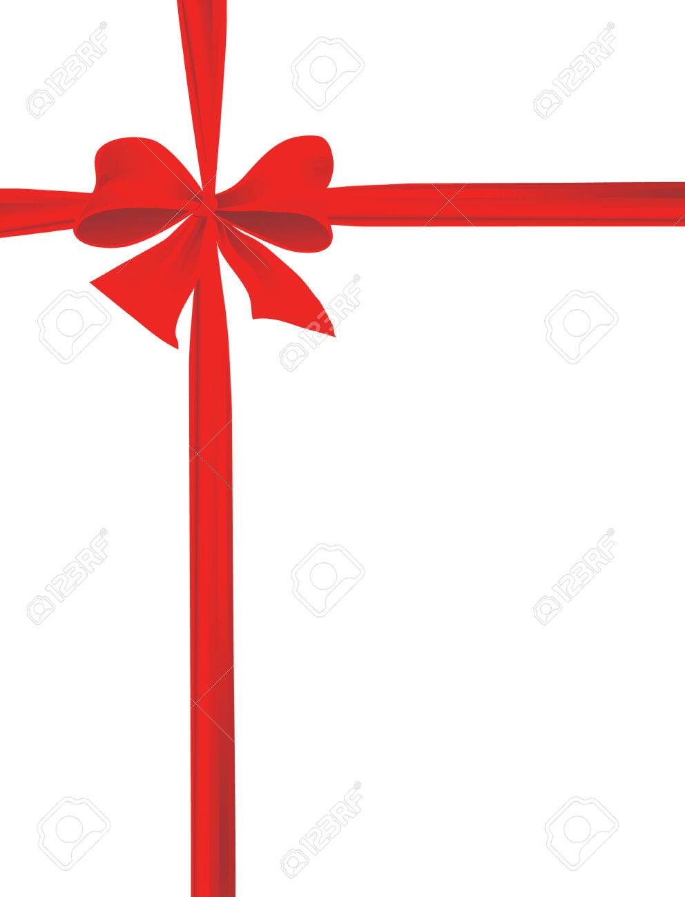Packaging with a red ribbon with a bow. Vector illustration Stock Vector - 5633274
