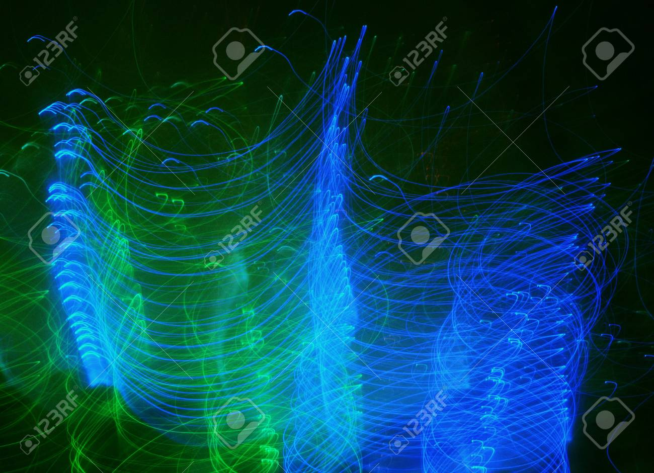 Experimental photo: Blue wings Stock Photo - 32794382