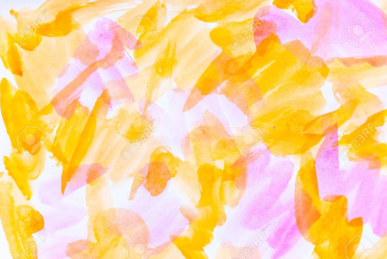 Abstract water color paints colorful background Stock Photo - 16208698