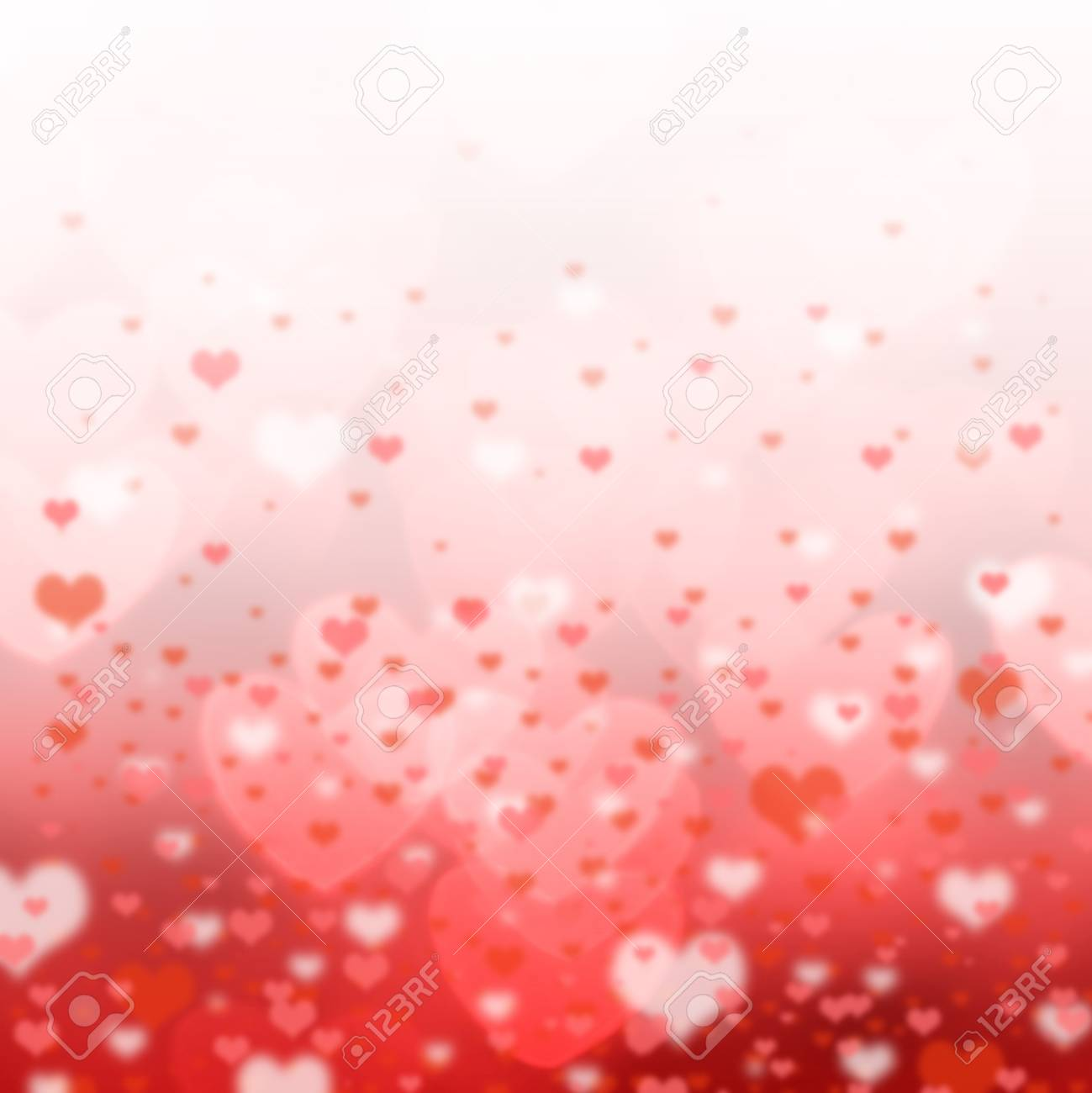 Lovely Background For Valentine Day And Wedding Stock Photo