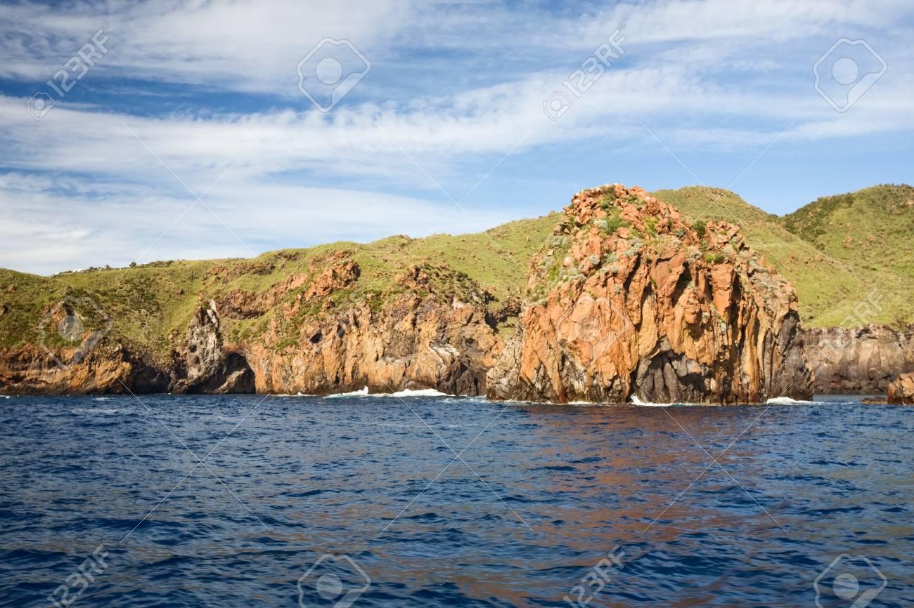 エオリア諸島、リーパリ、ヴルカ...