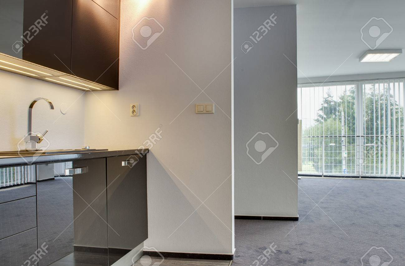 ZILINA , SLOVAK REPUBLIC - OCTOBER 01, 2015: Modern Kitchen In ... on