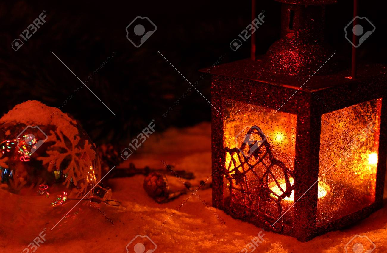 christmas and new year wallpapers for desktop antique street candle red lamp in winters night